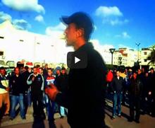 إضراب حركة 20 فبراير طنجة