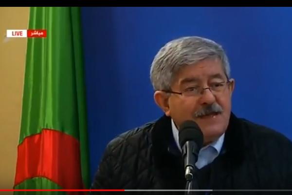 رئيس حكومة الجزائر يهاجم المغرب