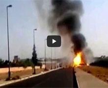 إنفجار قنينات الغاز بمراكش