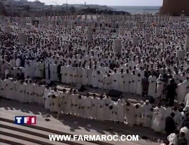 يوم دفن الحسن الثاني