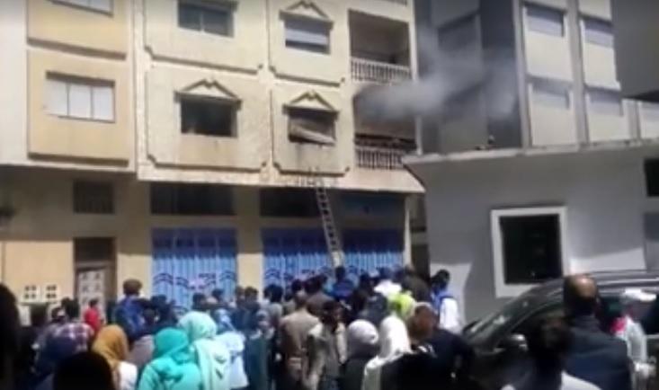 حريق في دار التونسي