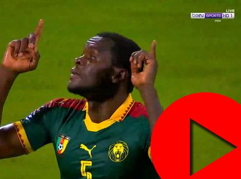 فوز الكاميرون على غانا