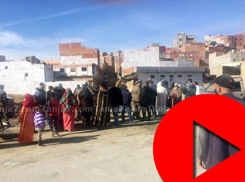 احتجاج بالمرس أشناد