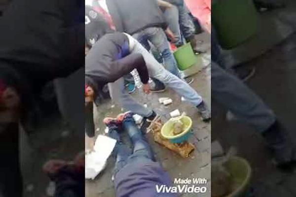 من زاوية أخرى.. هذا ما حدث لبائع سمك في طنجة
