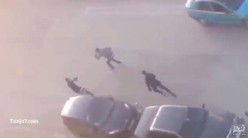 معركة بالسيوف في شوارع طنجة