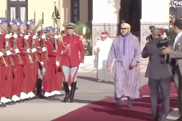 الملك يغادر باتجاه إثيوبيا