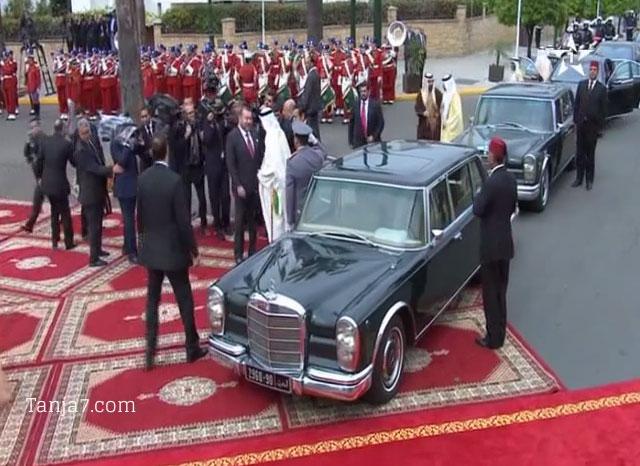 محمد السادس يستقبل ولي عهد أبوظبي