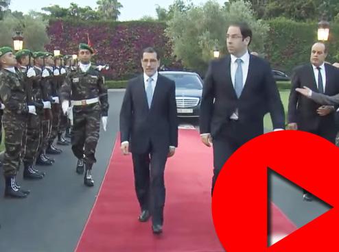 رئيس الحكومة التونسية في المغرب