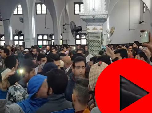 مقاطعة صلاة الجمعة بمسجد في فاس