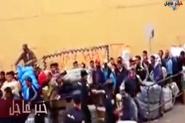اعتداء الأمن الإسباني على مغاربة