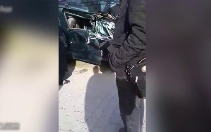 سقوط قوالب خرسانية في العوامة