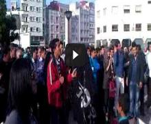 ضد الإعتقال السياسي في طنجة