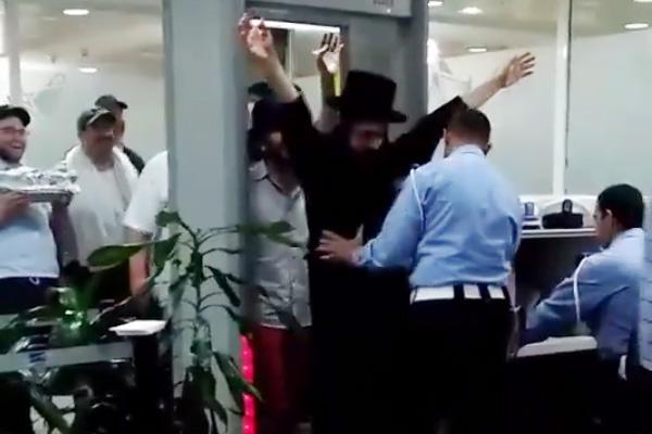 يهود بمطار الدار البيضاء